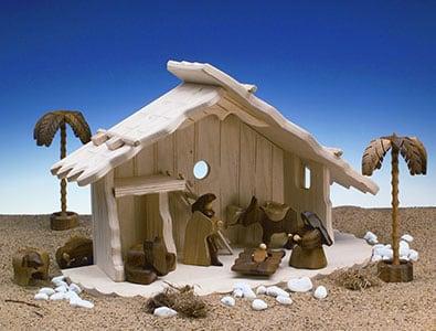 Krippenstall Bethlehem - Haus Freudenberg