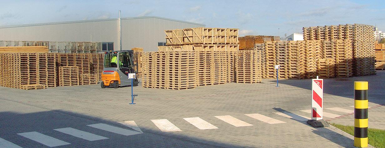 Paletten und Verpackungsmaterial haus Freudenberg