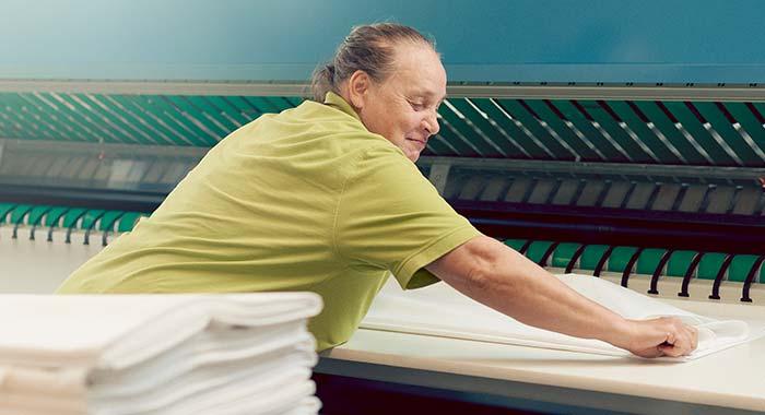 Arbeitsbereiche - Wäschepflege